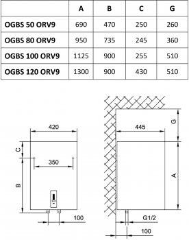 GORENJE OGBS 100 ORV9