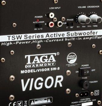 Сабвуфер TAGA Harmony VIGOR SW-8 Black