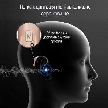 Слуховий апарат Laiwen (VHP-704) Цифровий підсилювач слуху з активним подавлениям шумів, 4 режиму відтворення