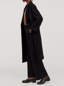 Пальто H&M 0672595-8 Чорне