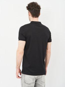 Поло Calvin Klein Jeans Micro Branding Liquid Polo J30J317439-BEH Pvh Black