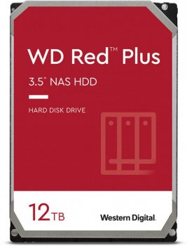 Накопитель HDD SATA 12.0TB WD Red Plus 7200rpm 256MB (WD120EFBX)