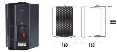 Настенная акустическая система ITC T-775PW