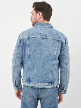 Джинсовая куртка Superdry M5010277A-3MG Broom Light Blue