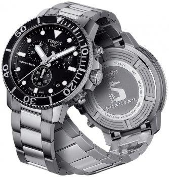 Чоловічі годинники Tissot T120.417.11.051.00