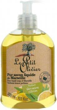 Рідке мило Le Petit Olivier Pure liquid soap of Marseille Вербена та лимон 300 мл (3549620006056)