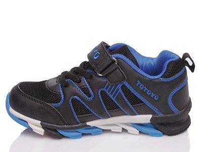 Кроссовки Kidsmix 1811 BLACK-BLUE(31-35)-ROZ