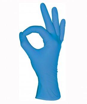 Перчатки Нитриловые Неопудренные MEDIOK Голубые M (100 шт)