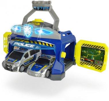 Игровой набор Dickie Toys Командный пункт полиции с 2 машинами (3715010) (4006333060274)