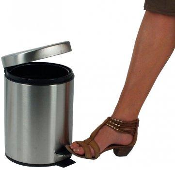 Відро для сміття KELA Janos 5 л (20879) матова неіржавка сталь