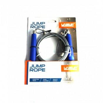 Скакалка швидкісна LiveUp CABLE JUMPROPE LS3114 581-950