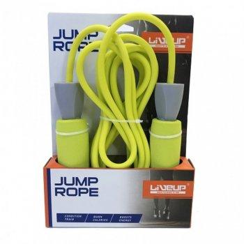 Скакалка LiveUp PVC FOAM HANDLE JUMP ROPE LS3118 571-940