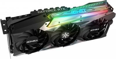 INNO3D PCI-Ex GeForce RTX 3090 iChill X3 24GB GDDR6X (384bit) (1755/19500) (HDMI, 3 x DisplayPort) (C30903-246XX-1880VA37 + CMT350 + H3-700)