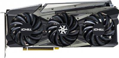 INNO3D PCI-Ex GeForce RTX 3060 Ichill X3 Red 12GB GDDR6 (192bit) (1837/15000) (3 x DisplayPort, HDMI) (C30603-12D6X-1671VA39A + CMT110A + ATX-500PNR PRO)