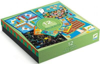 Набір класичних ігор Djeco 12 в 1 (3070900052185)