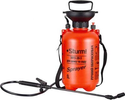 Опрыскиватель Sturm с ручным насосом 5 л (3015-20-5)