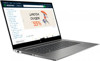 Ноутбук HP ZBook Create G7 (2H6U5AV_V1) Turbo Silver