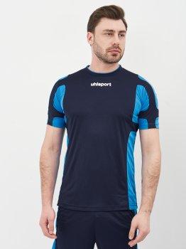 Футбольная форма Uhlsport 1003084-005 Темно-синяя с голубым