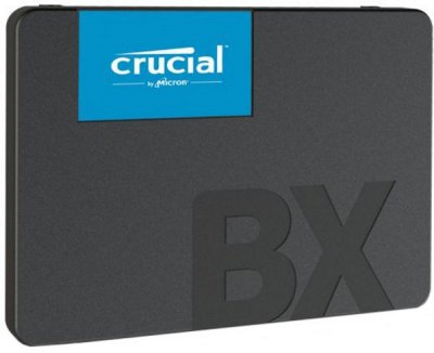 "Твердотільний диск SSD 2.5"" 240GB Crucial BX500 SATA 3, 3D TLC, Read/Write - 540Mb/s /500Mb/s (CT240BX500SSD1)"