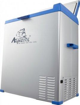 Компресcорный автохолодильник Alpicool A75 (75 літрів; 12, 24, 220 Вольт)
