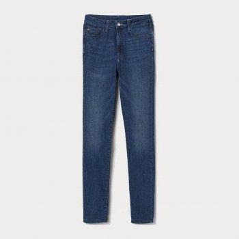 Джинси H&M 7460739-AAQJ Темно-сині
