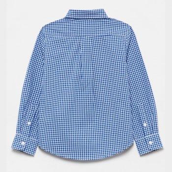 Рубашка OVS 1129631 White/Blue Check