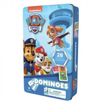Гра настільна у бляшаній коробці Spin Master Games Доміно Щенячий патруль (SM98408/6033087)