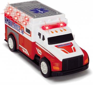 Машинка Dickie Toys Скорая помощь со световыми и звуковыми эффектами 15 см (3302013)