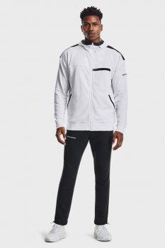 Мужские черные спортивные брюки UA RIVAL TERRY AMP PANT Under Armour 1361638-002