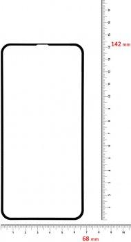 Захисне скло BeCover для Apple iPhone 11 Black (BC_704103)
