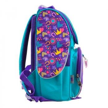 Рюкзак шкільний каркасний Yes Weekend H-11 Unicorn 12л 900гр Блакитний