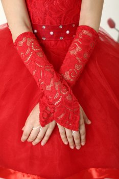 Нарядное платье со шлейфом I.V.A.moda Камалия 30 красный iva-514
