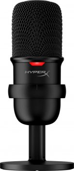 Хит комплект Микрофон HyperX SoloCast (HMIS1X-XX-BK/G) + Мышь HyperX Pulsefire Core USB Black (HX-MC004B)