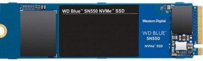 Твердотільний диск SSD M. 2 250GB Western Digital Blue SN550 NVMe PCle 3.0 4x 2280 Sequential Read/Write 2400/950 MB/sec (WDS250G2B0C)