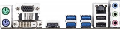 Мат. плата MB GigaByte GA-A320M-S2H (A320/sAM4/2xDDR4 3200(OC)/1хРСІе x16/2хРСІе x1/4xSATA3/1xM.2 port/RAID 0,1,10/GLan/DVI, D-Sub, HDMI, 4xUSB3.1, 2xUSB2.0/Audio 7.1 Ch/mATX)