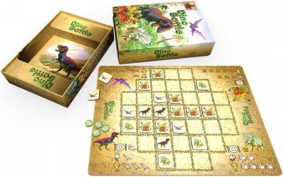 Настольная игра Bombat Game Дино Батл (0023)