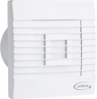 Витяжний вентилятор AirRoxy pRestige 100 ZG TS з гравітаційними жалюзями і таймером