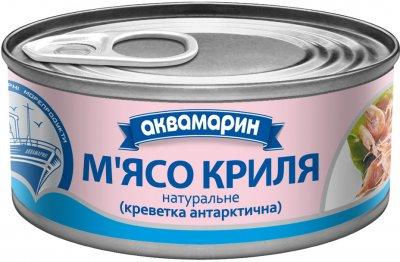 Упаковка мяса криля Аквамарин натуральное 100 г 24 шт (4820183772664)