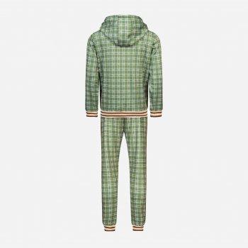 Спортивный костюм Lonsdale Littlestone 117117-5051 Green/Yellow/Ecru
