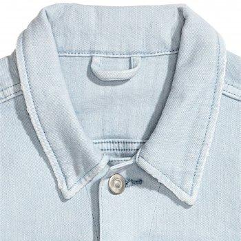 Джинсова куртка H&M 5235596-ACUP Блакитна