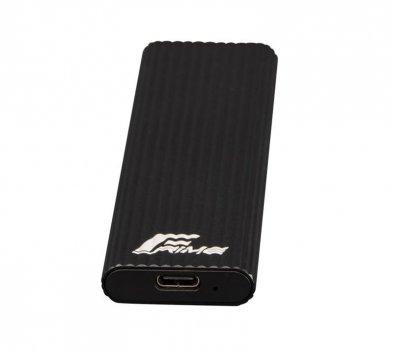 """Зовнішній кишеню Frime SATA HDD/SSD 2.5"""", USB 3.1, Metal, Black (FHE210.M2U31)"""