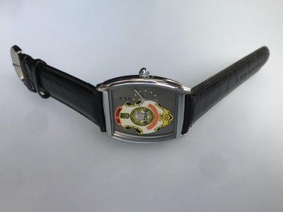 Часы наручные МВД спецподразделение КОБРА подарок полицейскому, Гравировка индивидуальная, именные часы