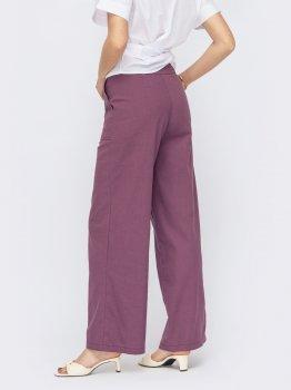 Брюки Dressa 53771 Фиолетовые