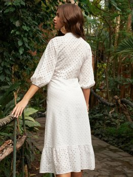 Платье Dressa 53448 Белое