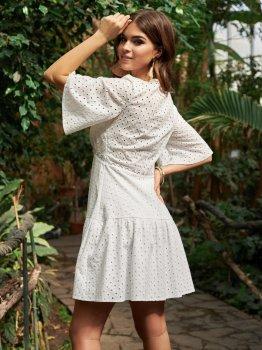 Платье Dressa 53454 Белое