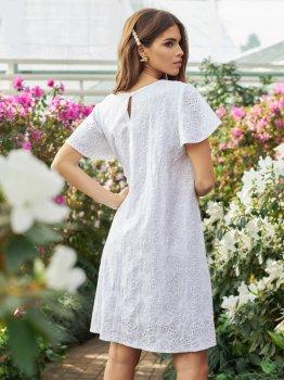 Платье Dressa 53761 Белое