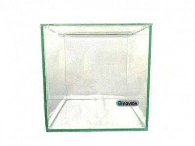 Террариум стеклянный AqVida, 20х20х20 см