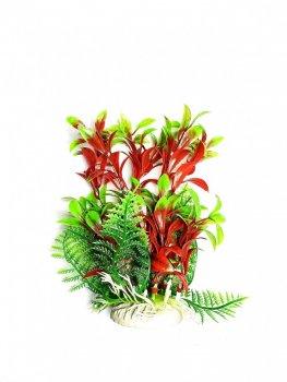 Искусственное растение для аквариума Р032171-17 см