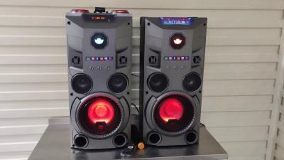 Колонки акустичні активні з безпроводным мікрофоном Rock Music RC-8950 2х50Вт USB/SD/FM/BT/ДУ L/R Bluetooth