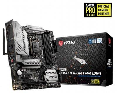 Материнська плата MSI MAG B460M Mortar Wi-Fi Socket 1200